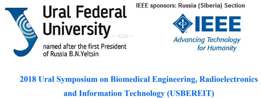 2018 Ural Symposium on Biomedical Engineering, Radioelectronics and Information Technology (USBEREIT)